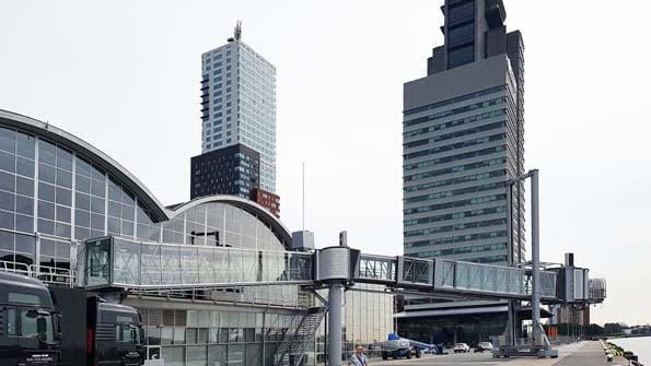 Cruiseterminal Rotterdam exterieur